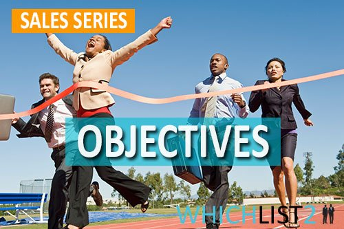 Objectives - Sales Series Part 5