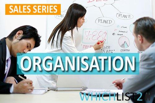 Organisation - Sales Series Part 7