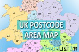 UK Postcode Map